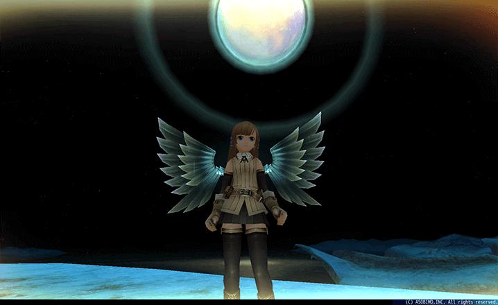 雪精霊の翼