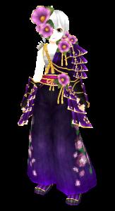 椿_紫_女