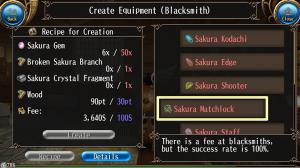 Sakura Matchlock