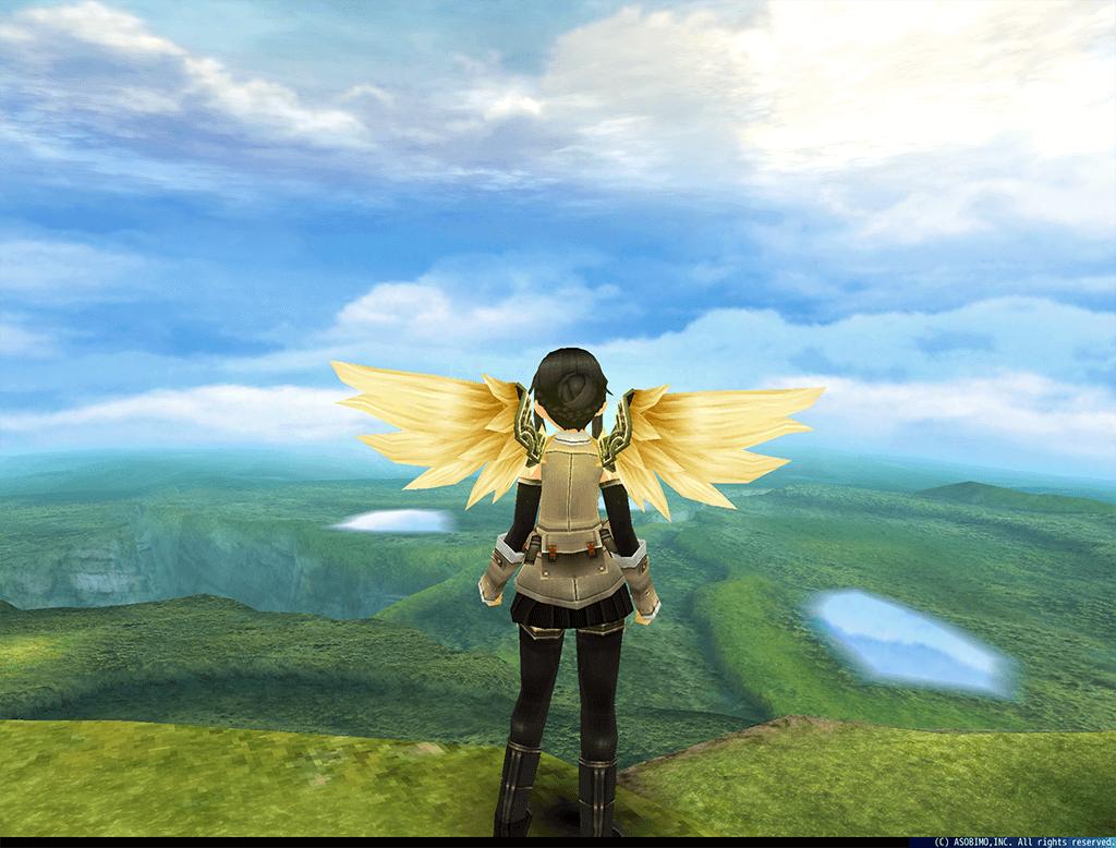 金色に輝く「黄金の翼」