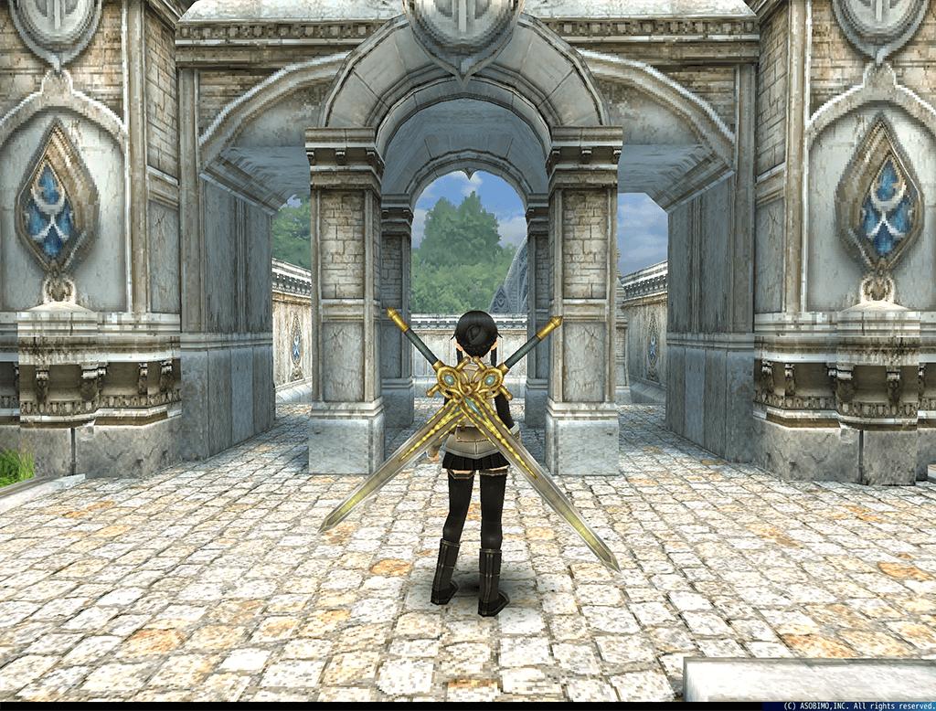 「黄金の大剣」(両手剣)と、「黄金の装飾大剣」(追加装備)をプレゼント!