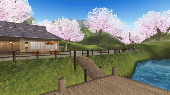 初登場のマップ「お花見イベント会場」 | トーラム オンライン Toram Online